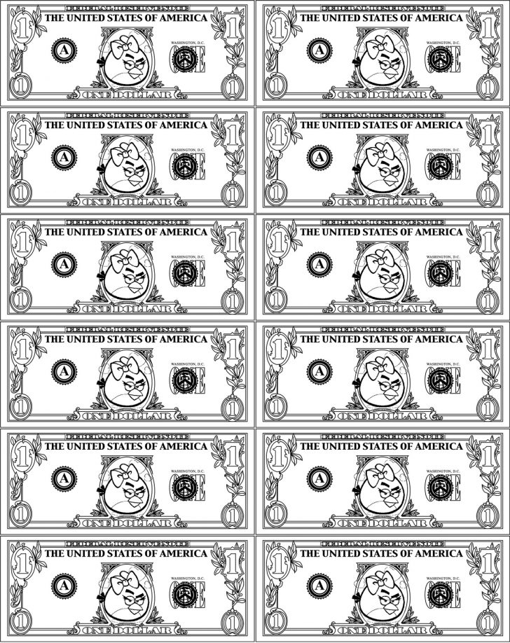 Free Printable Game Money