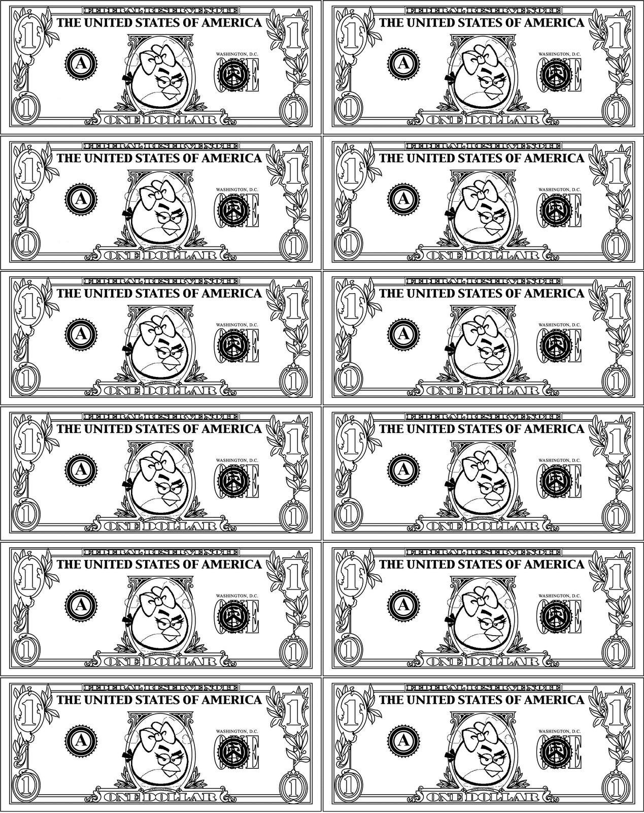 Printable Play Money For Kids | Paper Game For Kids | Pinterest - Free Printable Game Money