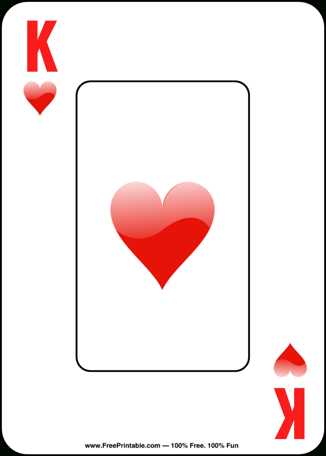 Printable Playing Cards | Chart And Printable World - Free Printable Deck Of Cards