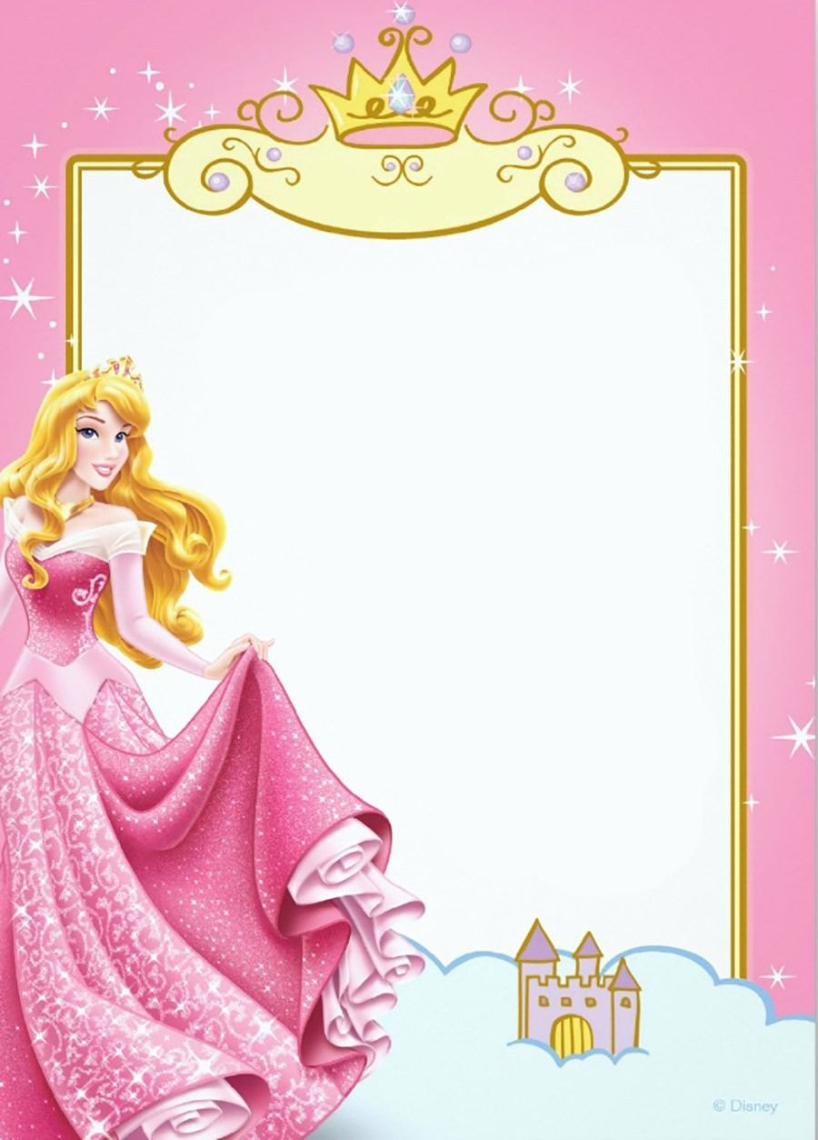Printable Princess Invitation Card | Scrapbooking | Pinterest - Free Printable Princess Invitation Cards