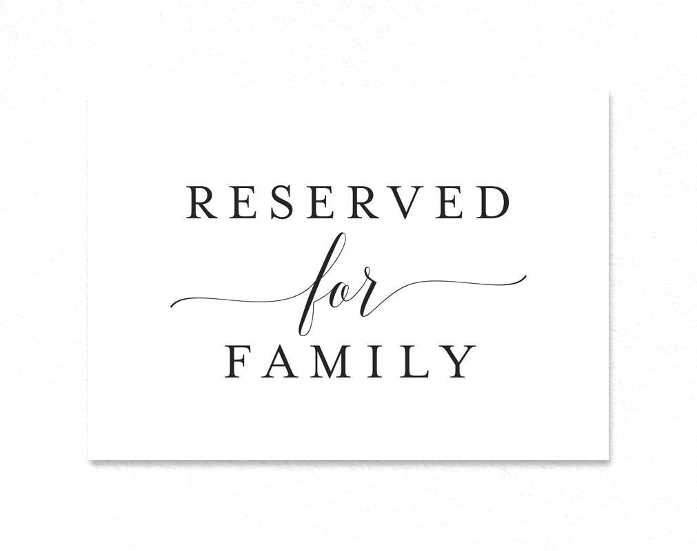 Printable Reservation Signs - 1.17.internist-Dr-Horn.de • - Free Printable Reserved Table Signs