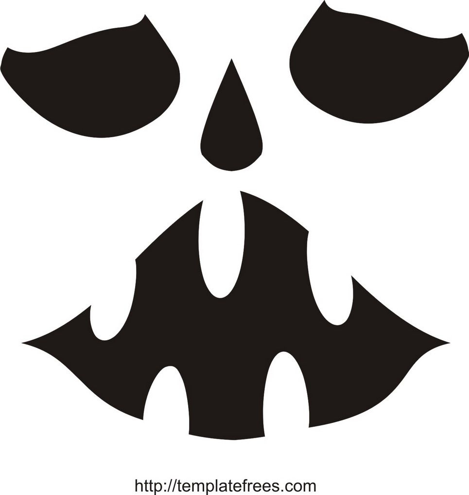 Printable Scary Pumpkin Carving Stencils   Free Printable Pumpkin - Scary Pumpkin Stencils Free Printable