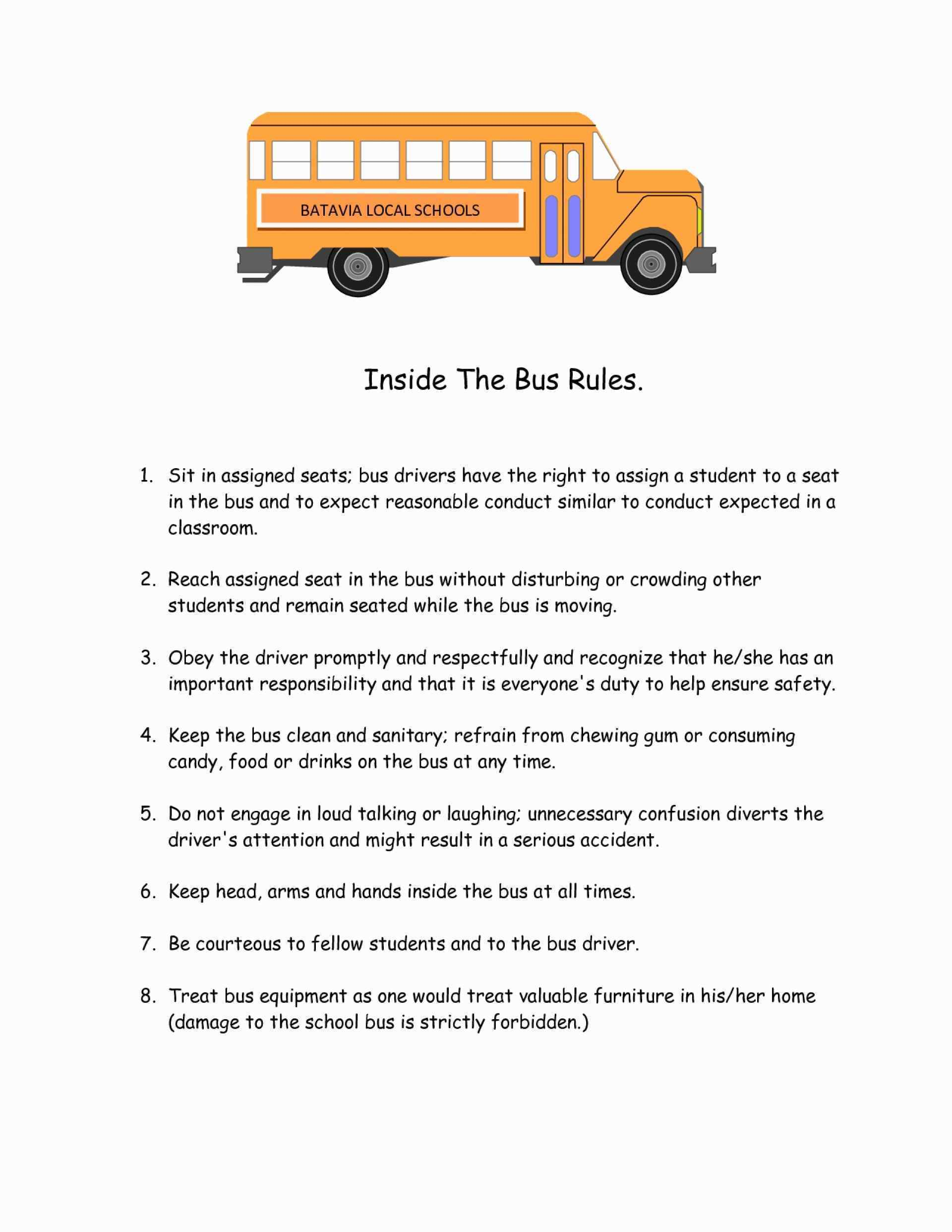 Printable School Bus Template Beautiful Stunning School Bus Template - Free Printable School Bus Template