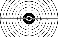 Printable Shooting Targets For Pistol, Rifle, Airgun, Archery – Free Printable Shooting Targets
