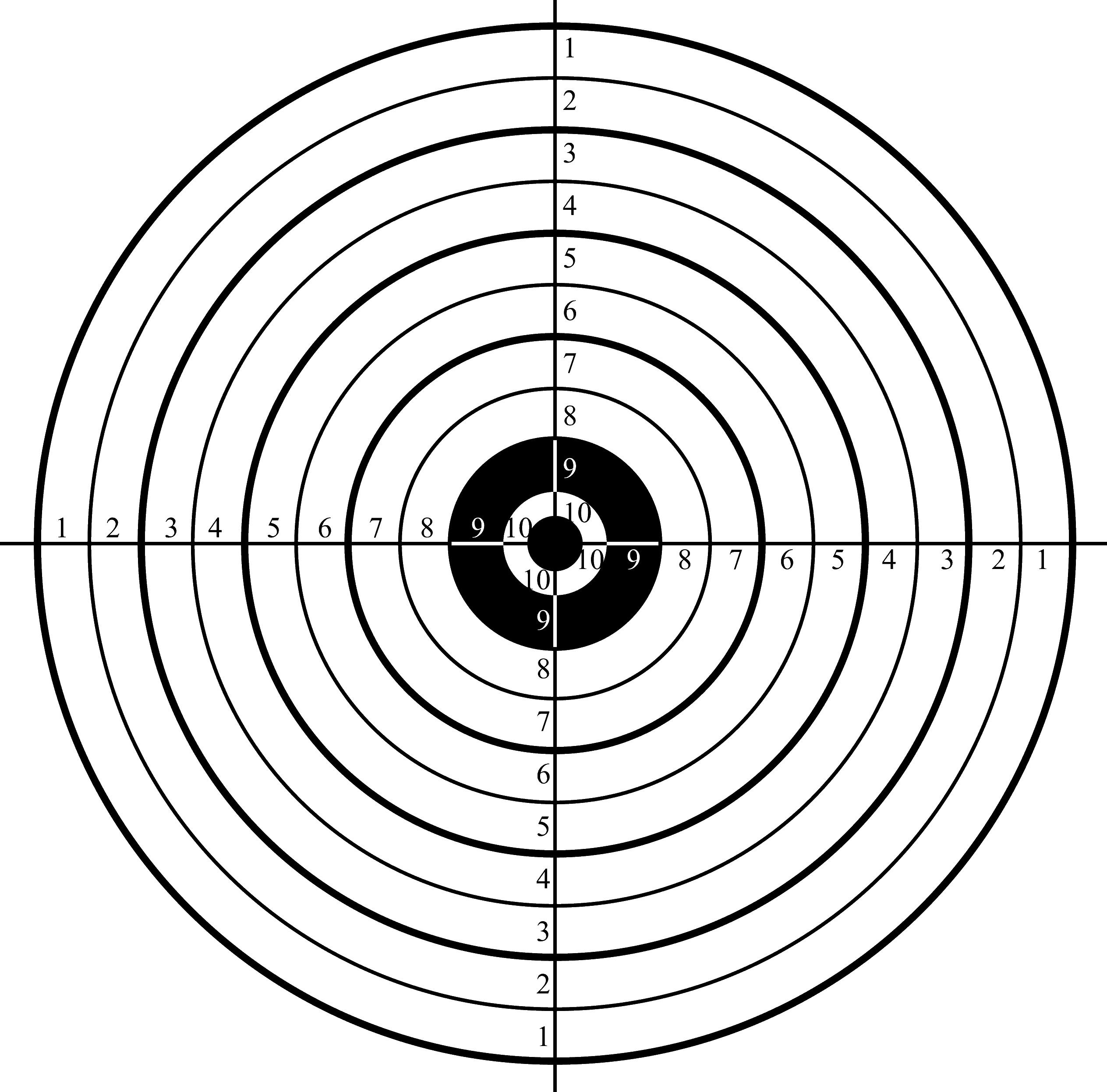 Printable Shooting Targets Pdf - Free Printable Targets