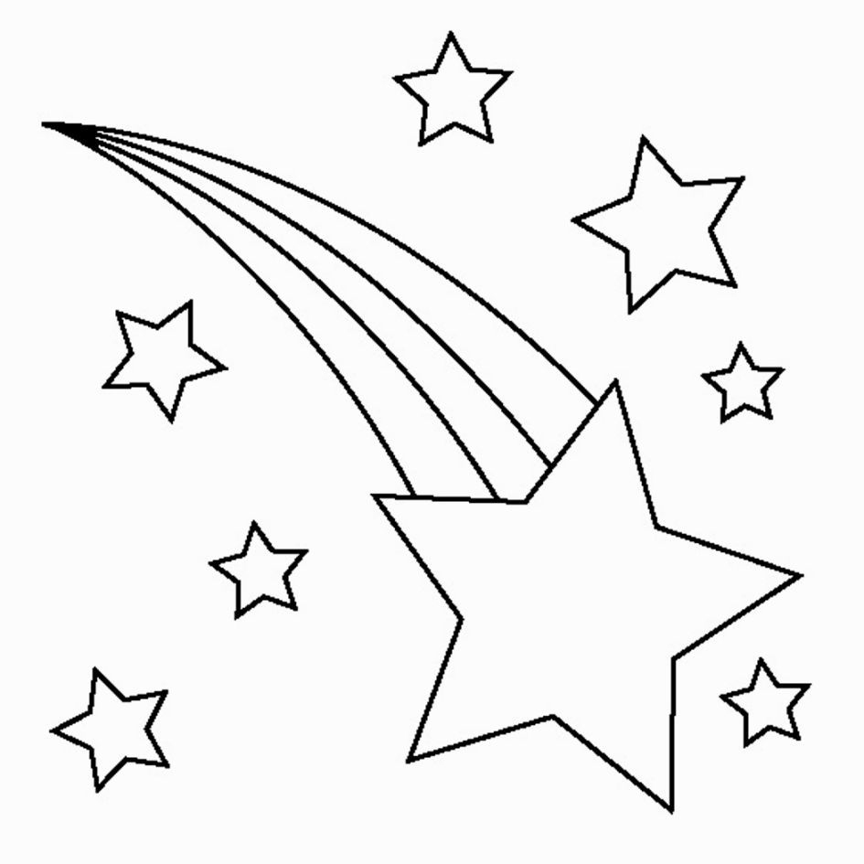 Printable Star Coloring Pages | Coloring Pages | Pinterest - Free Printable Christmas Star Coloring Pages