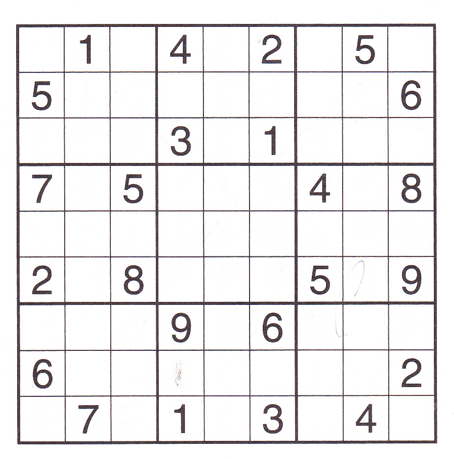 Printable Sudoku Pdf. Blank Sudoku Worksheets Pdf Crossword Puzzle - Free Printable Sudoku Pdf