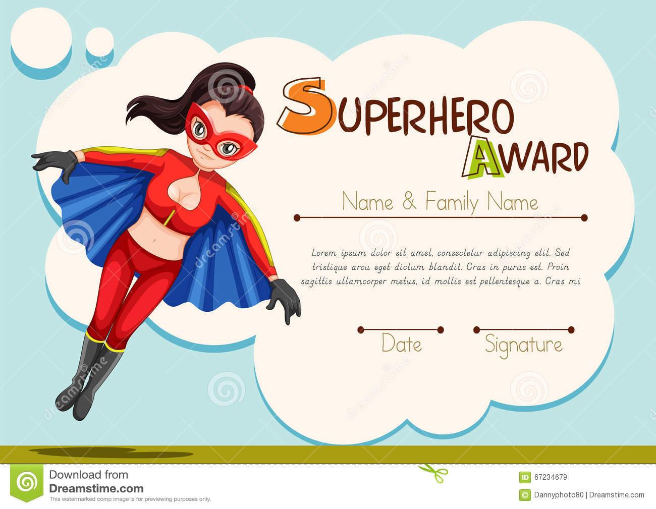 Printable Superhero Certificate Girls - 4.6.kaartenstemp.nl • - Free Printable Superhero Certificates
