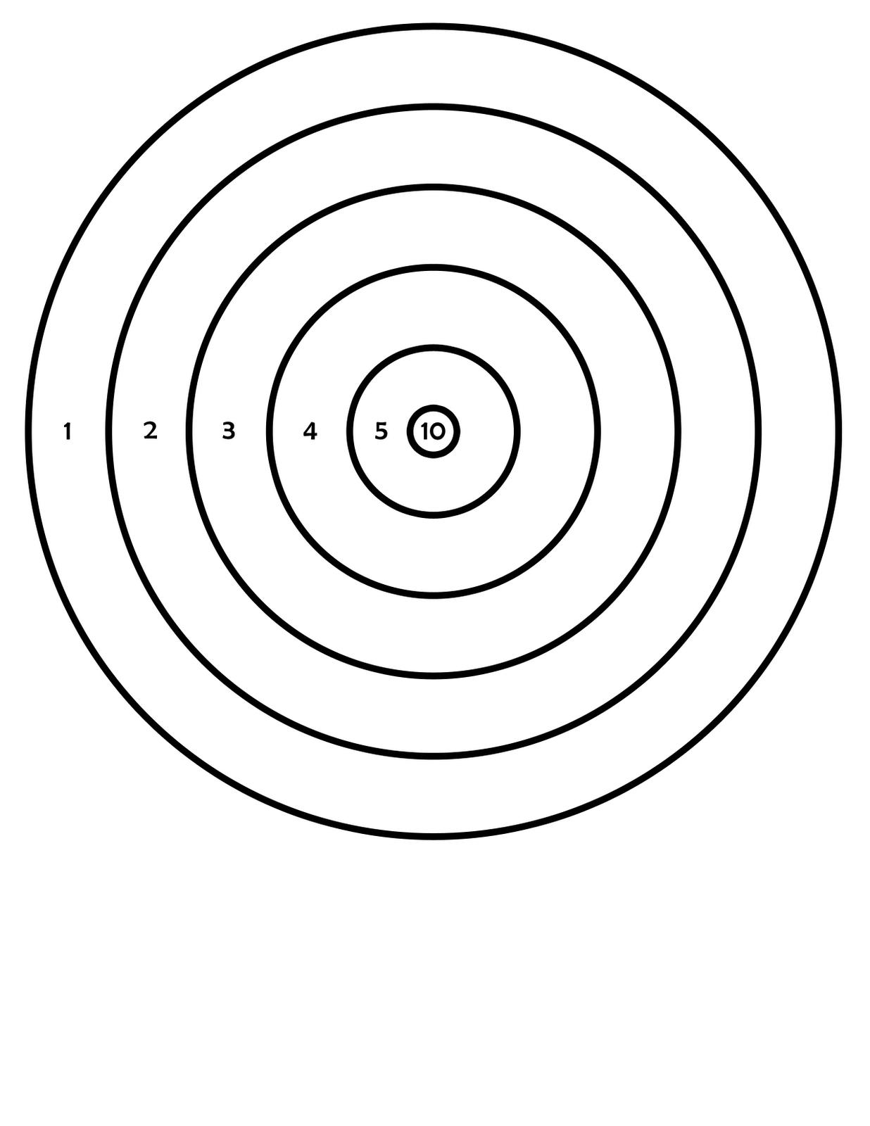 Printable Targets | 411Toys: Free Printable Airsoft Targets - Free Printable Targets