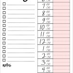 Printable To Do Lists That Work | Free Printables | Printables, To – Free Printable To Do Lists To Get Organized
