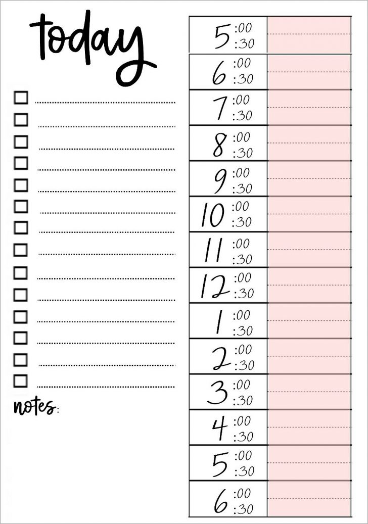 Free Printable To Do Lists To Get Organized