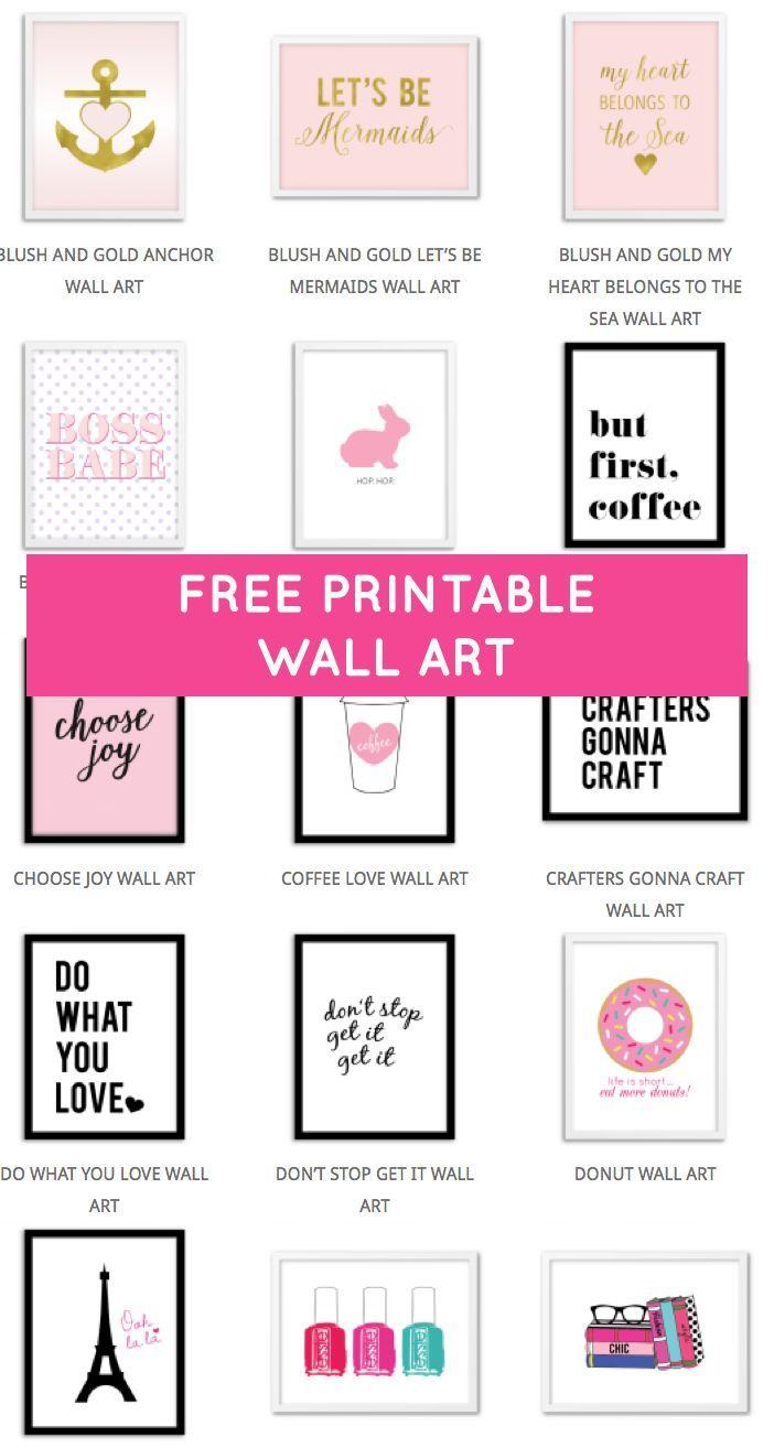 Printable Wall Art - Print Wall Decor And Poster Prints For Your - Free Printable Wall Art Prints