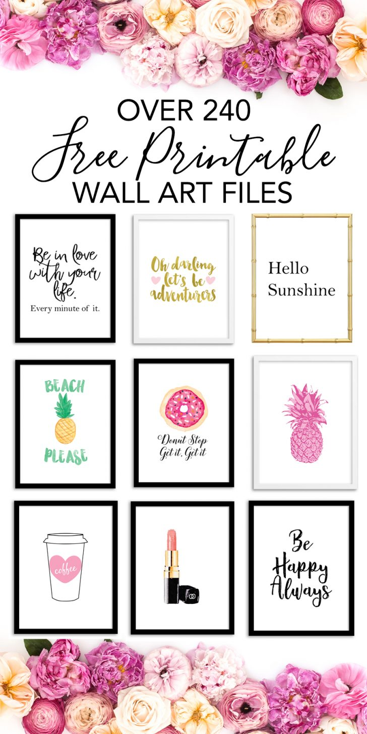 Free Printable Wall Posters