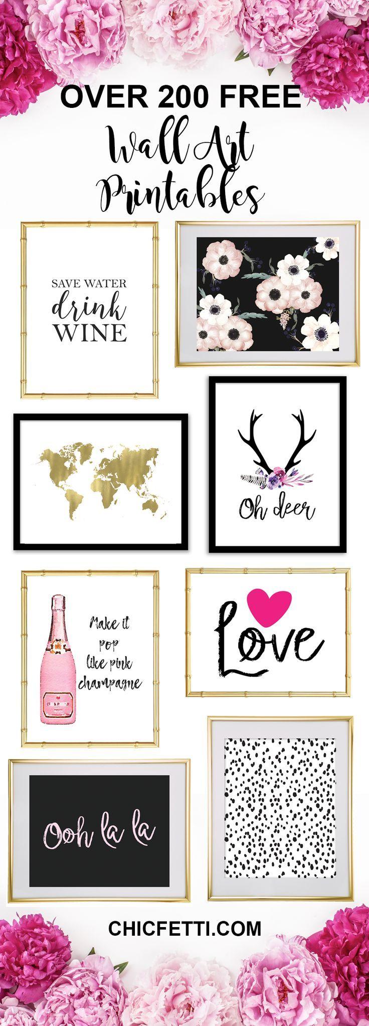 Printable Wall Art - Print Wall Decor And Poster Prints For Your - Free Printable Wall Posters
