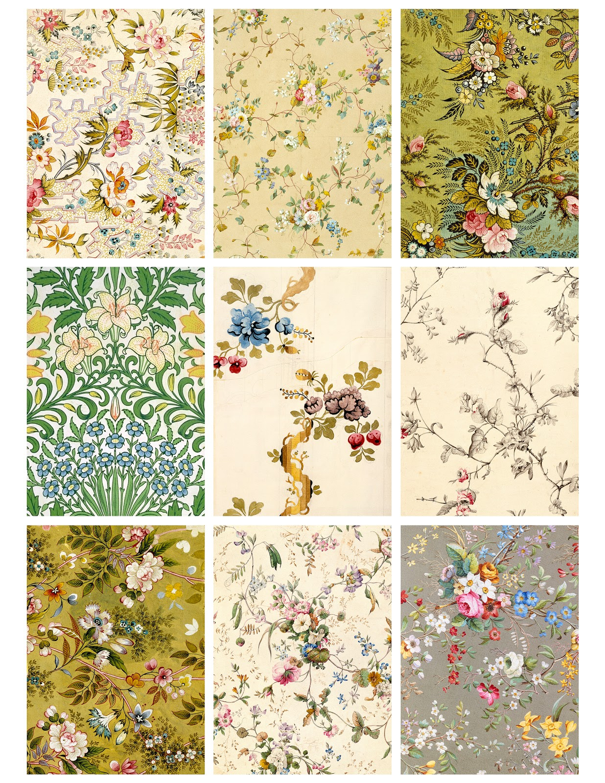 Printable Wallpaper Patterns - Wallpapersafari - Free Printable Wallpaper Patterns