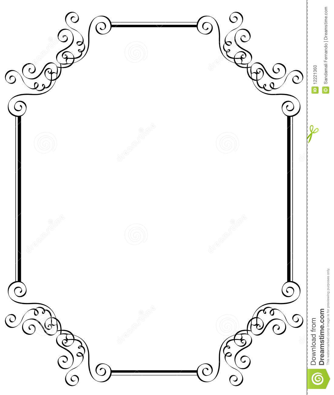 Printable Wedding Borders Clipart - Free Printable Wedding Clipart Borders