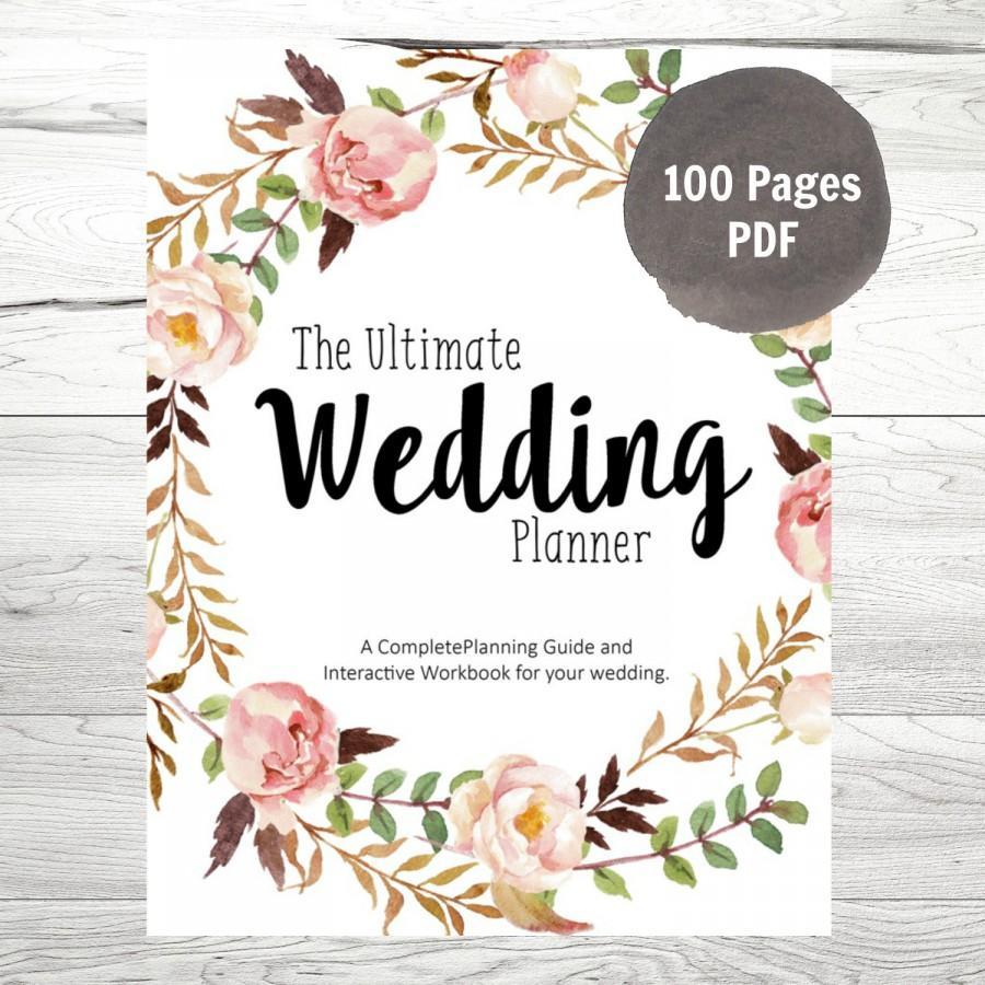 Printable Wedding Planner Pdf | Ellipsis - Free Printable Wedding Planner Pdf
