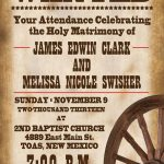 Printable Western Templates | Wedding Invitations Free Printable - Free Printable Wanted Poster Invitations