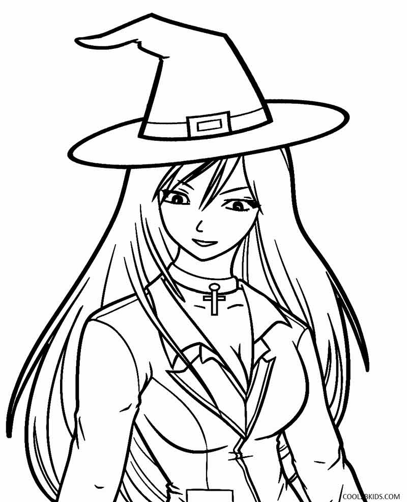 Printable Witch Coloring Pages For Kids | Cool2Bkids - Free Printable Pictures Of Witches