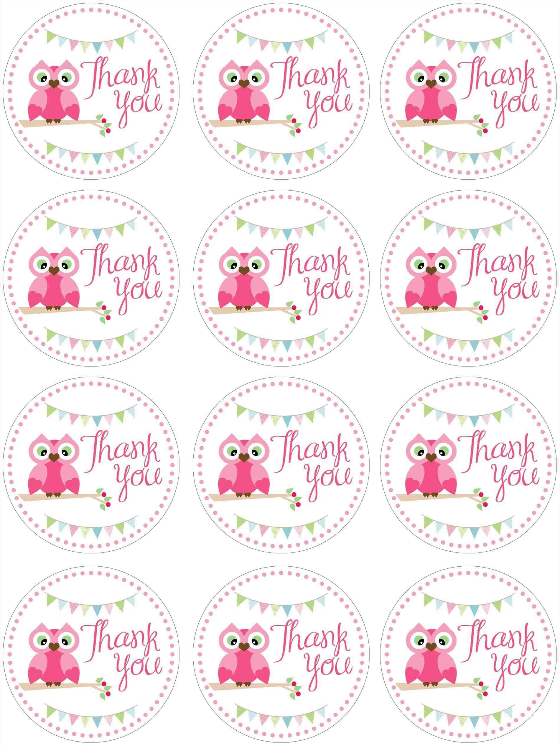 Printables-Favors-And-Owl-Free-Printable-Thank-You-Tags-Template - Free Printable Thank You Tags For Birthday Favors