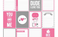 Printables | Misstiina - 52 Reasons Why I Love You Free Printable Template