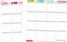 Printables | Misstiina - Free Printable Planner Pages