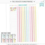 Printables | Misstiina   Planner Printable Free