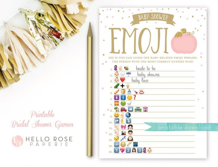 Wedding Emoji Pictionary Free Printable