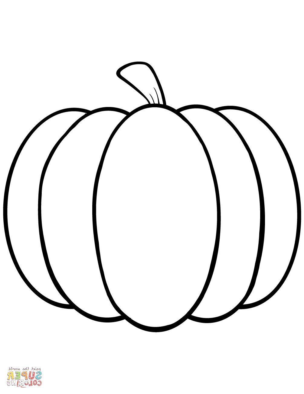 Pumpkin Coloring Pages   Coloring Page   Pinterest   Pumpkin - Free Printable Pumpkin Coloring Pages