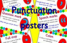 Punctuation Posters Printable Free
