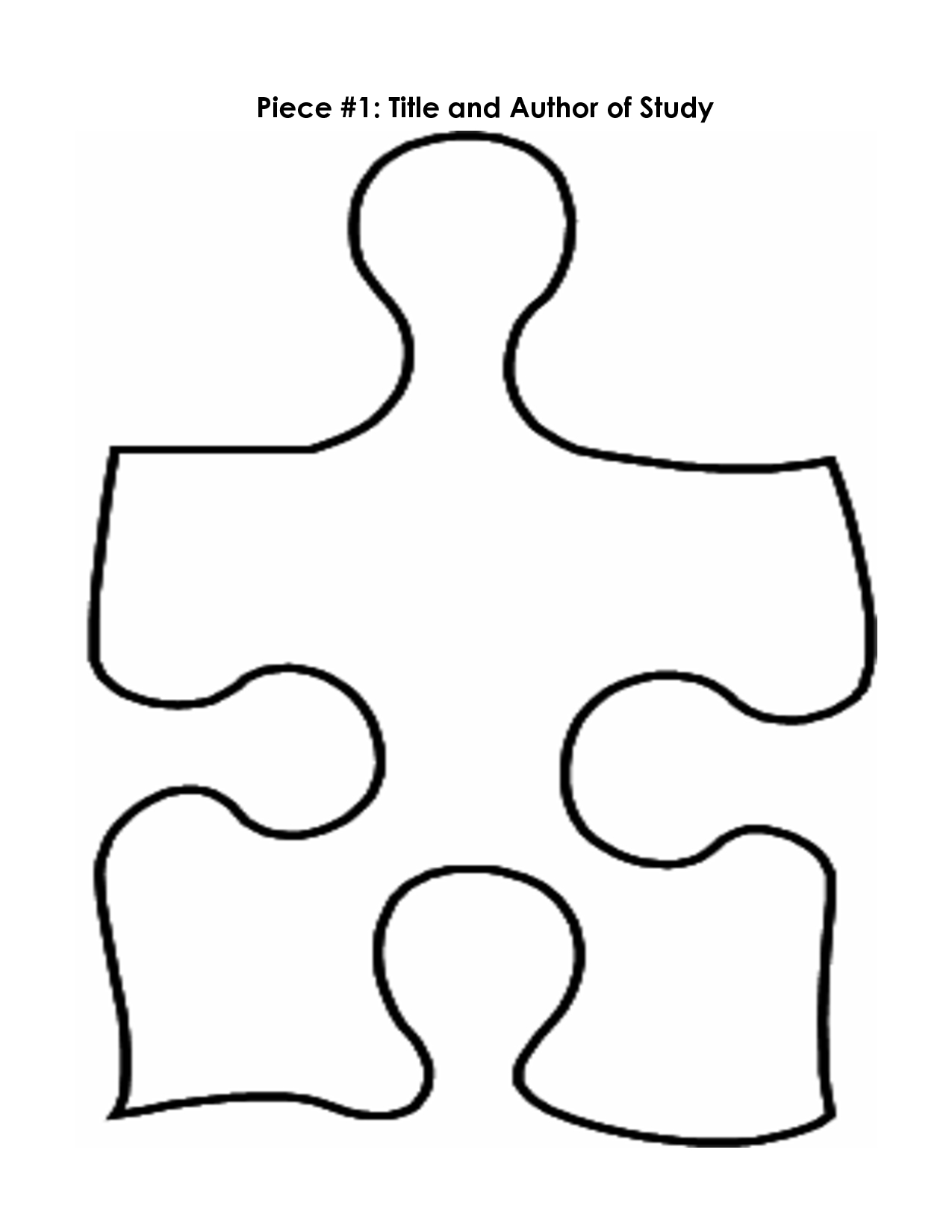 Puzzle Piece Mystery Book Template Pp | Printables | Pinterest - Free Printable Blank Puzzle Pieces