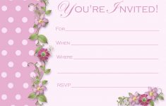 Free Printable Quinceanera Invitations