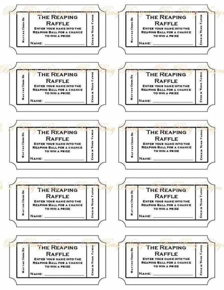 Raffle Ticket Numbering Free Printable Raffle Ticket Template - Free Printable Raffle Ticket Template