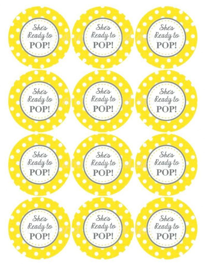 Ready To Pop Baby Shower Invitation Printables Free Creative Co In - Ready To Pop Free Printable