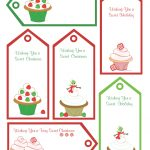 Red Black Name Tags Printable |  Shoppe: Free Christmas   Free Printable Gift Name Tags