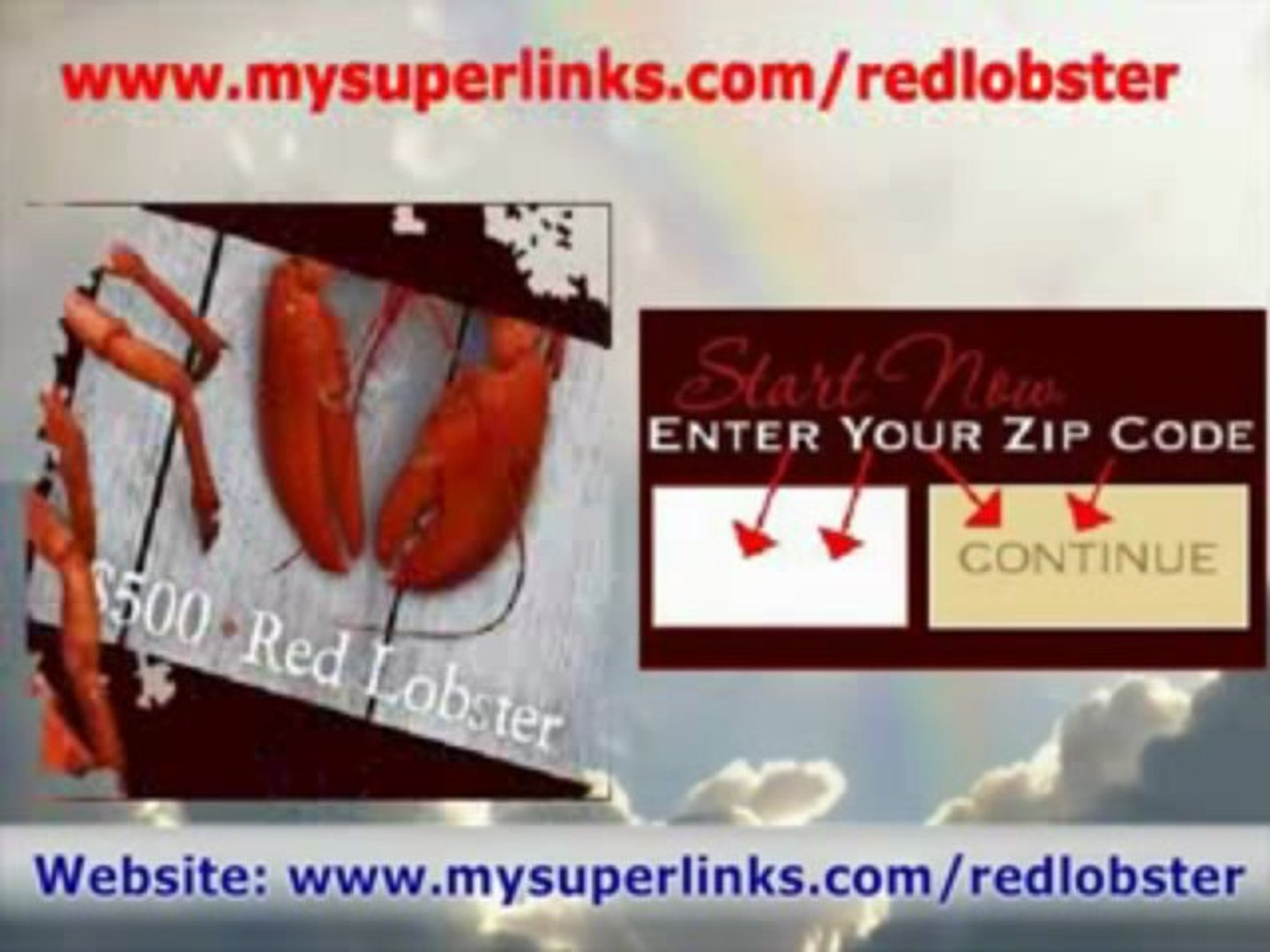 Red Lobster Printable Online Coupons Free) *$500 Cards* - Video - Free Printable Red Lobster Coupons