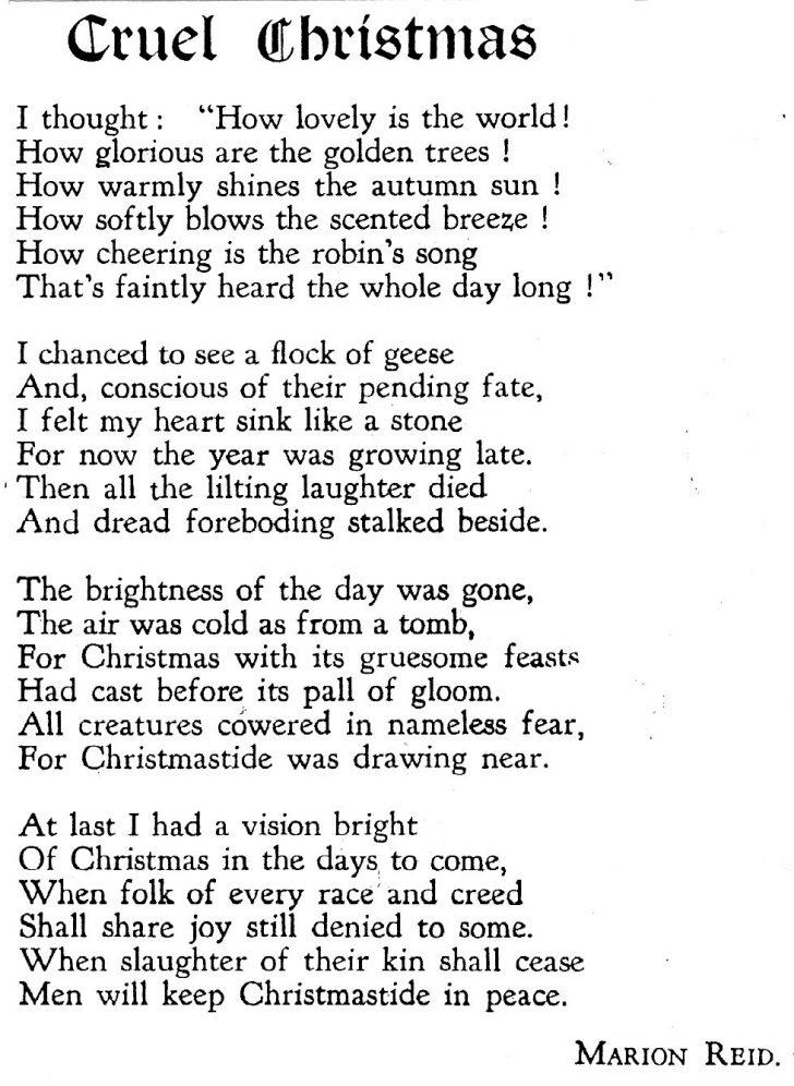 Free Printable Christian Christmas Poems