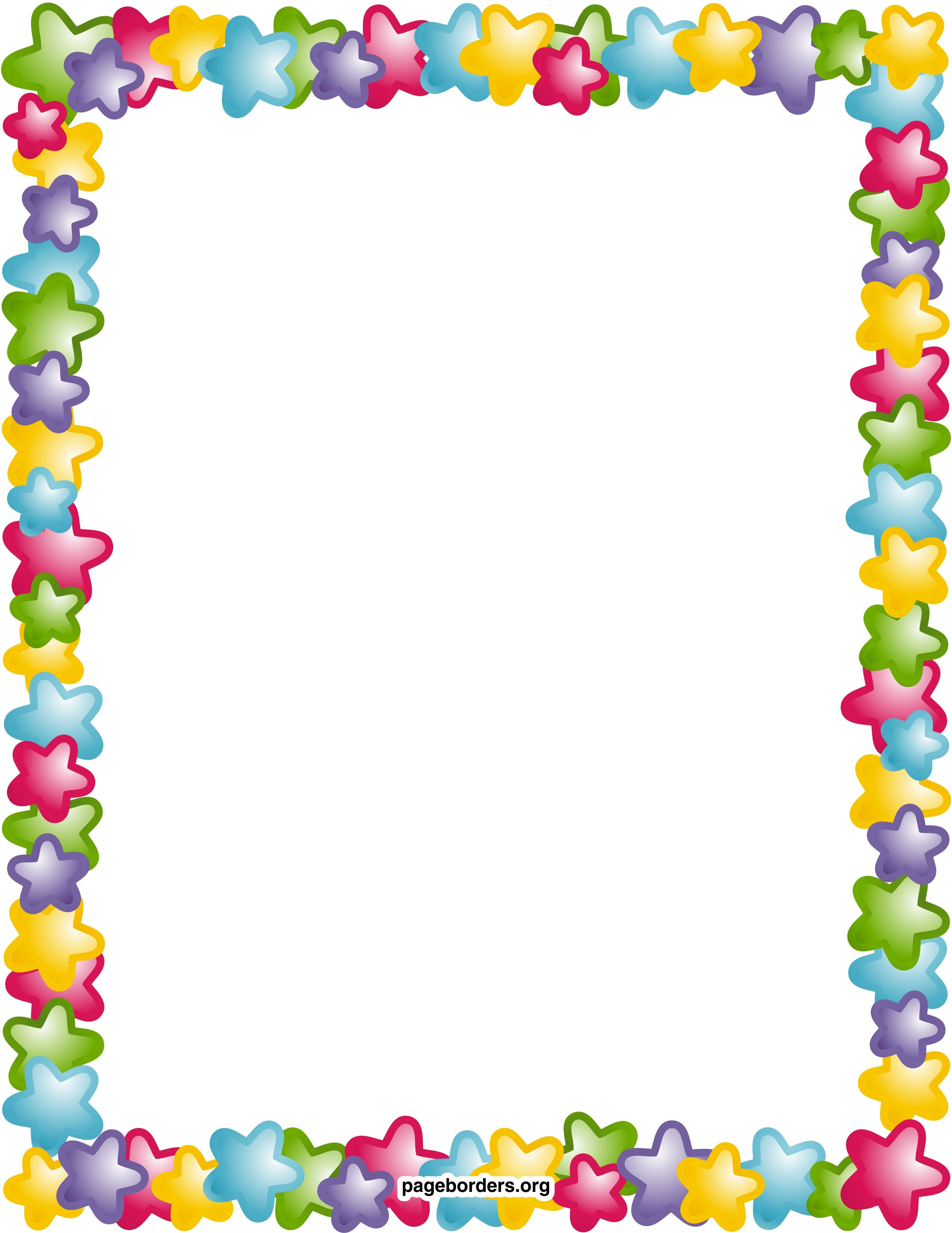 Remarkable Decoration Free Printable Borders And Frames Clip Art - Free Printable Page Borders