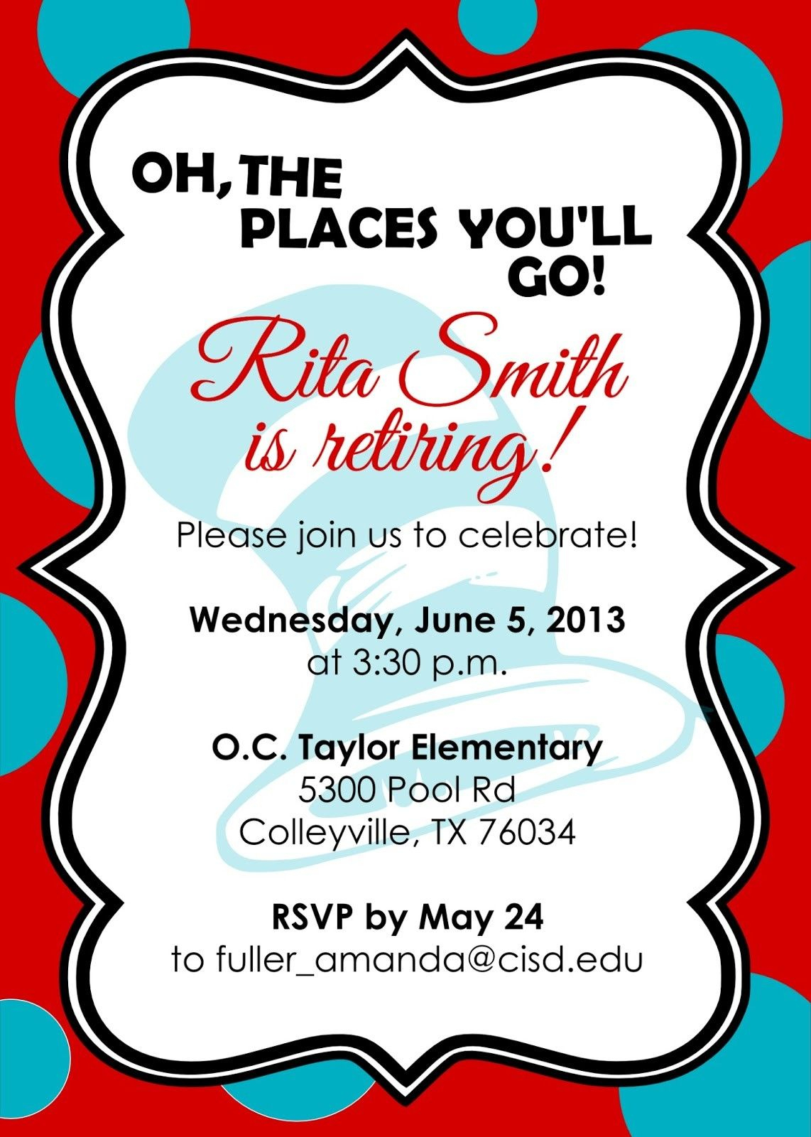 Retirement Party Invitations Free Templates | Fun Stuff | Pinterest - Free Printable Retirement Cards