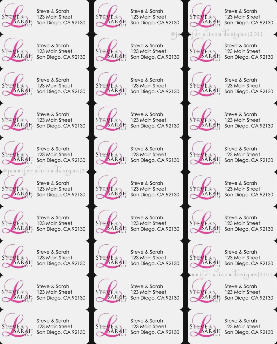 Return Address Labels Template 13 Per Sheet Free Guide Address Label - Free Printable Return Address Labels