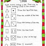 Roll A Christmas Tree Game – Free Printable! | Christmas | Pinterest   Free Printable Christmas Puzzle Games