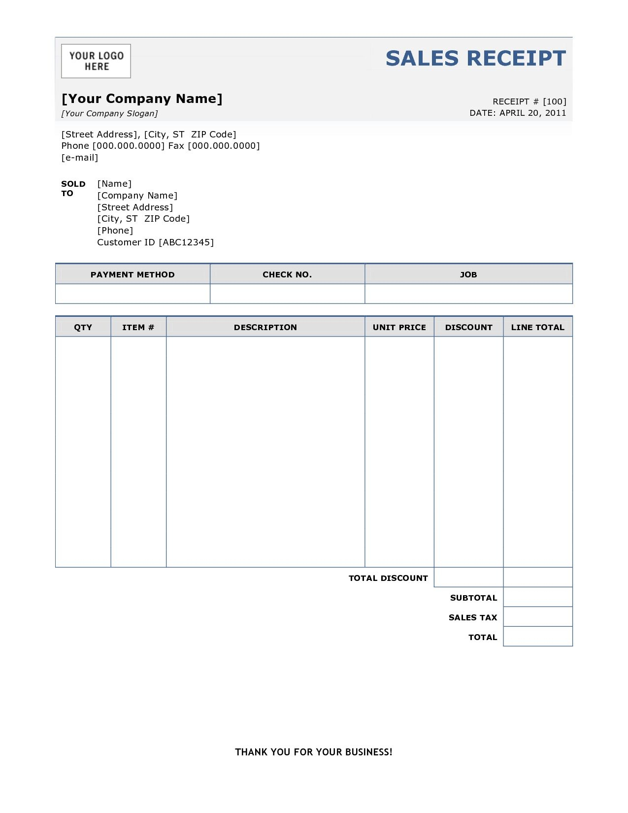 Sample Of Invoice Receipt Free Printable Invoice Sample Of Invoice - Free Bill Invoice Template Printable