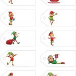 Santa's Little Gift To You! Free Printable Gift Tags And Labels   Free Printable Holiday Gift Labels