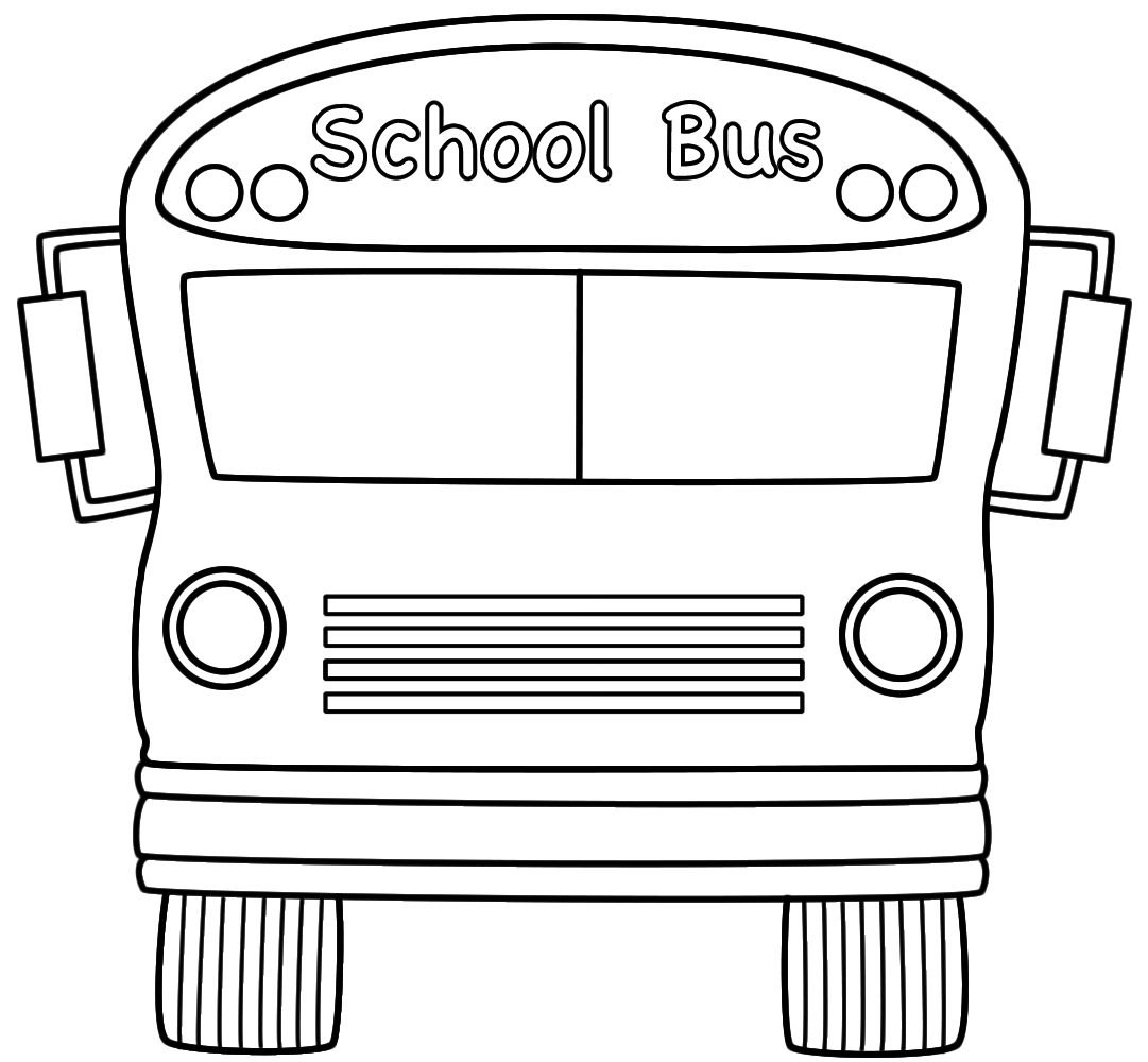School Clipart Royalty Free Download Printables - Rr Collections - Free Printable School Bus Template