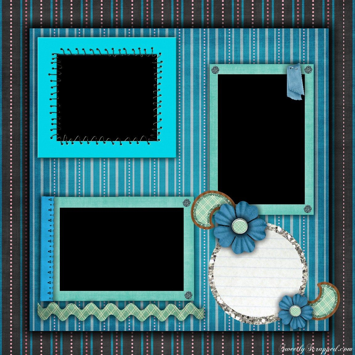 Scrapbooking Layouts Ideas Templates Free Printable Scrapbook Layout - Free Printable Scrapbook Page Designs