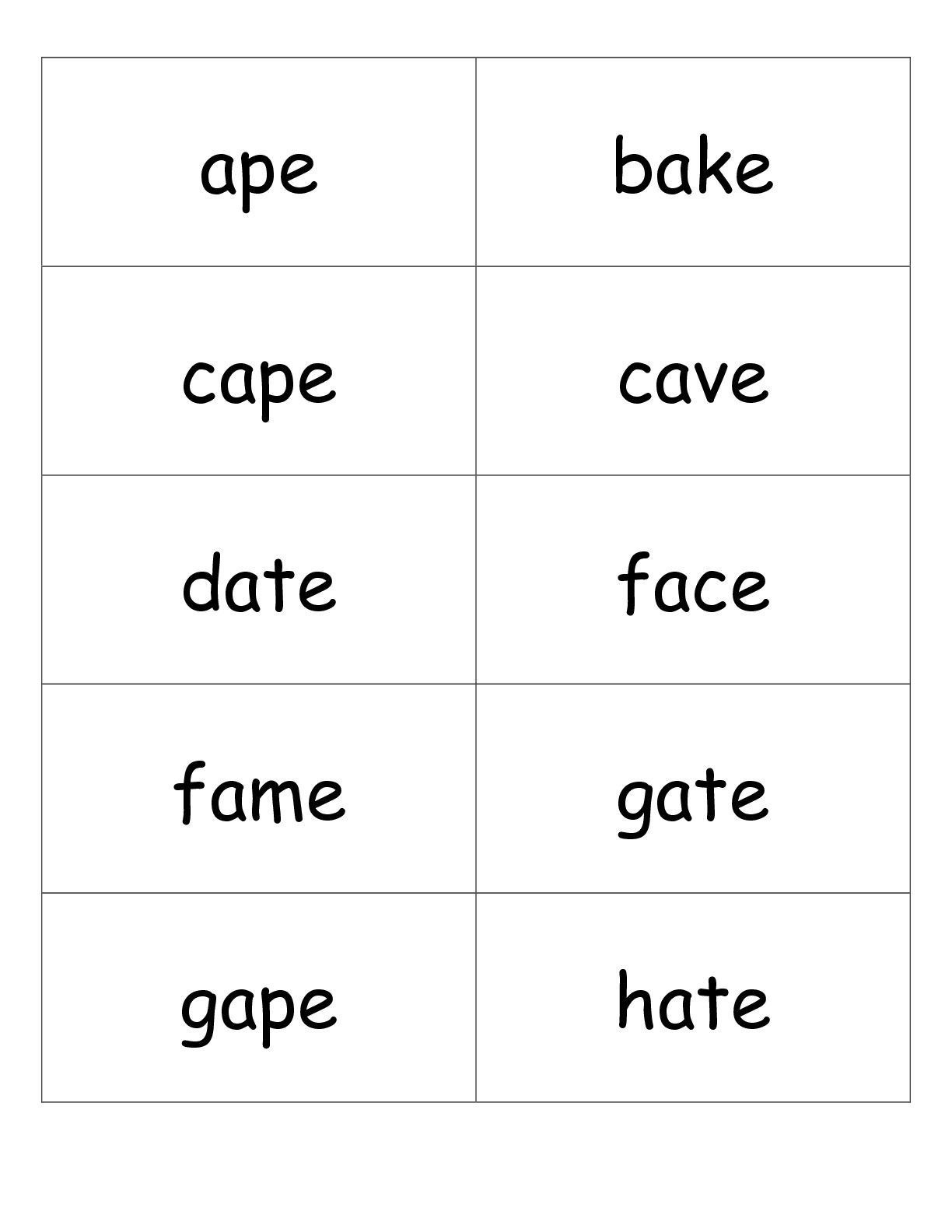 Second Grade Phonics Worksheets And Flashcards - Free Printable Phonics Worksheets For Second Grade