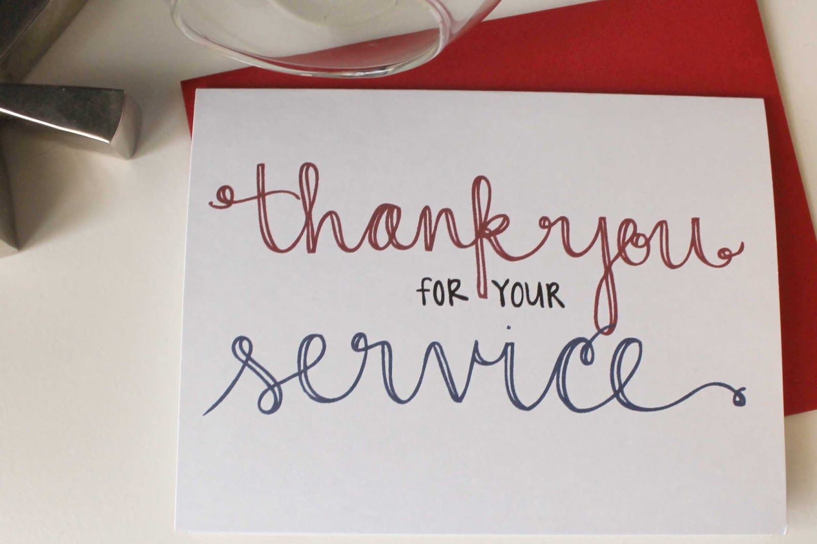Send A Thank You Card To Our Troops | Diy Notecards - Free Printable Thank You Cards For Soldiers
