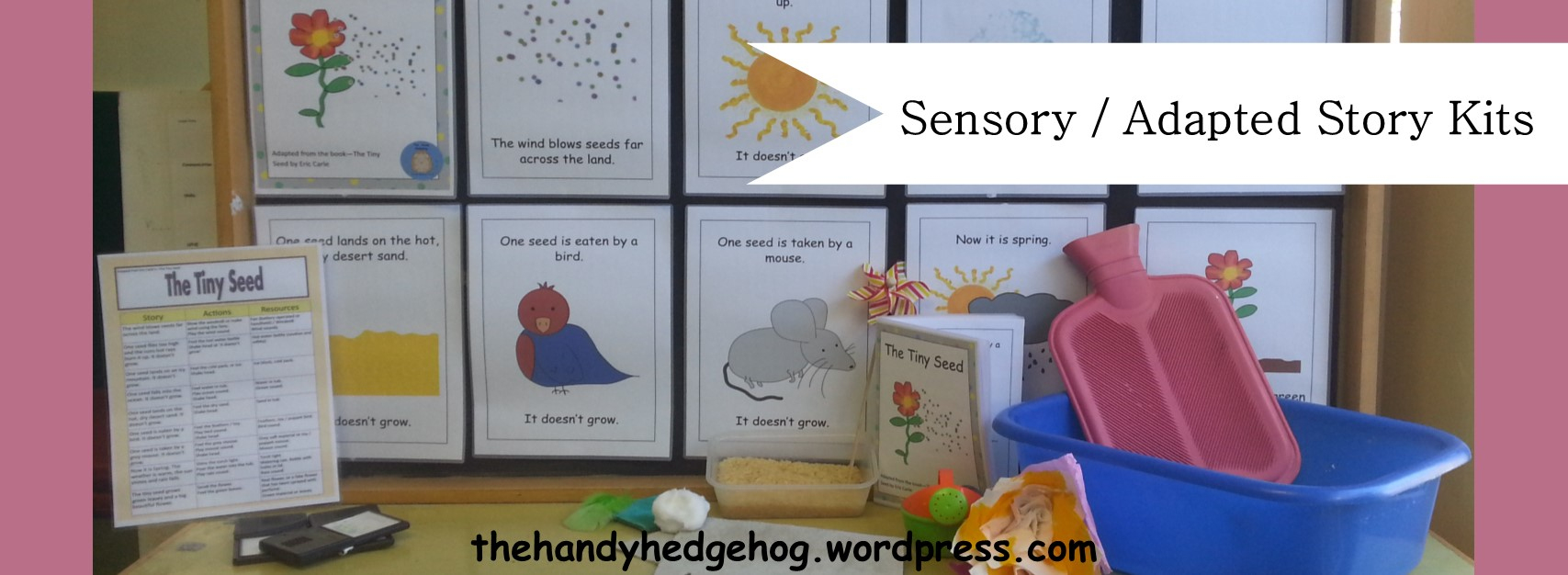 Sensory / Adapted Story Kits – The Handy Hedgehog - Free Printable Sensory Stories