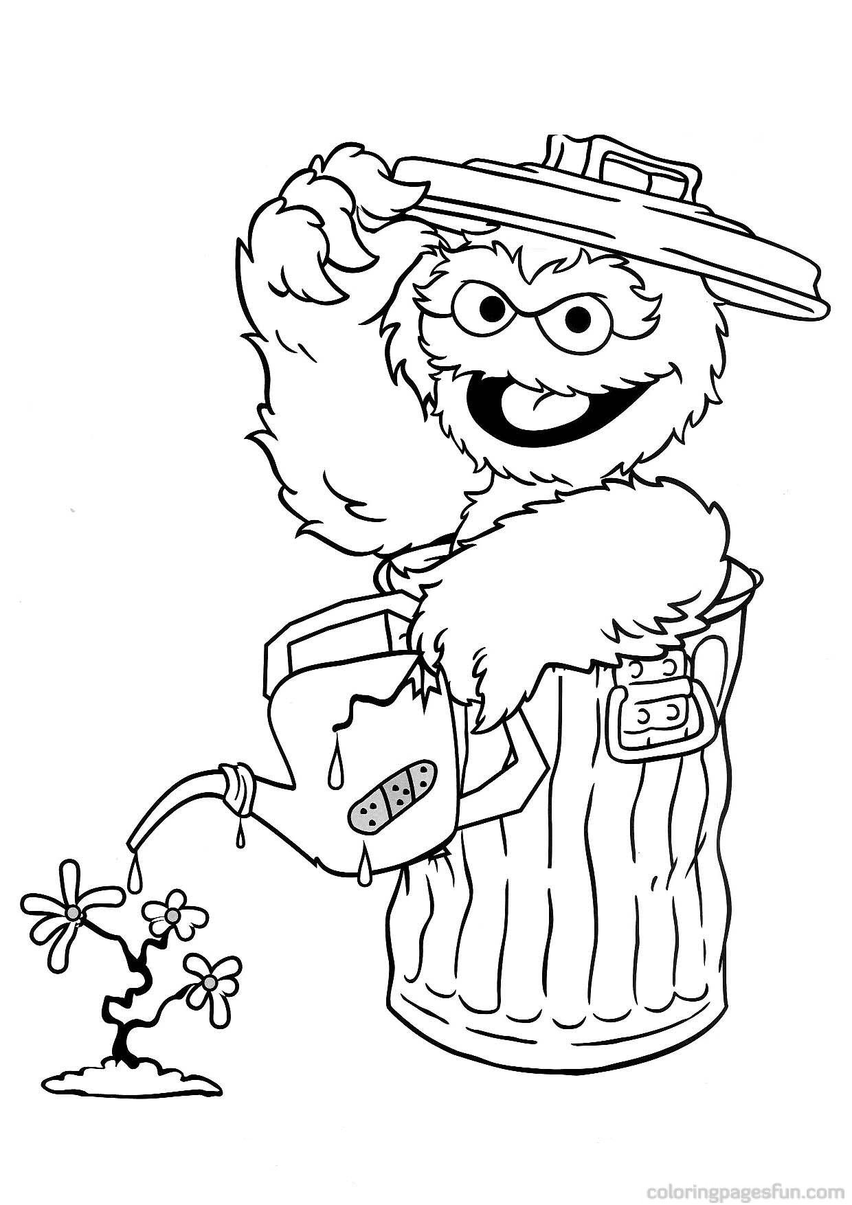 Sesame Street Coloring Pages Awesome Coloring Pages   Sesame Street - Free Printable Sesame Street Coloring Pages