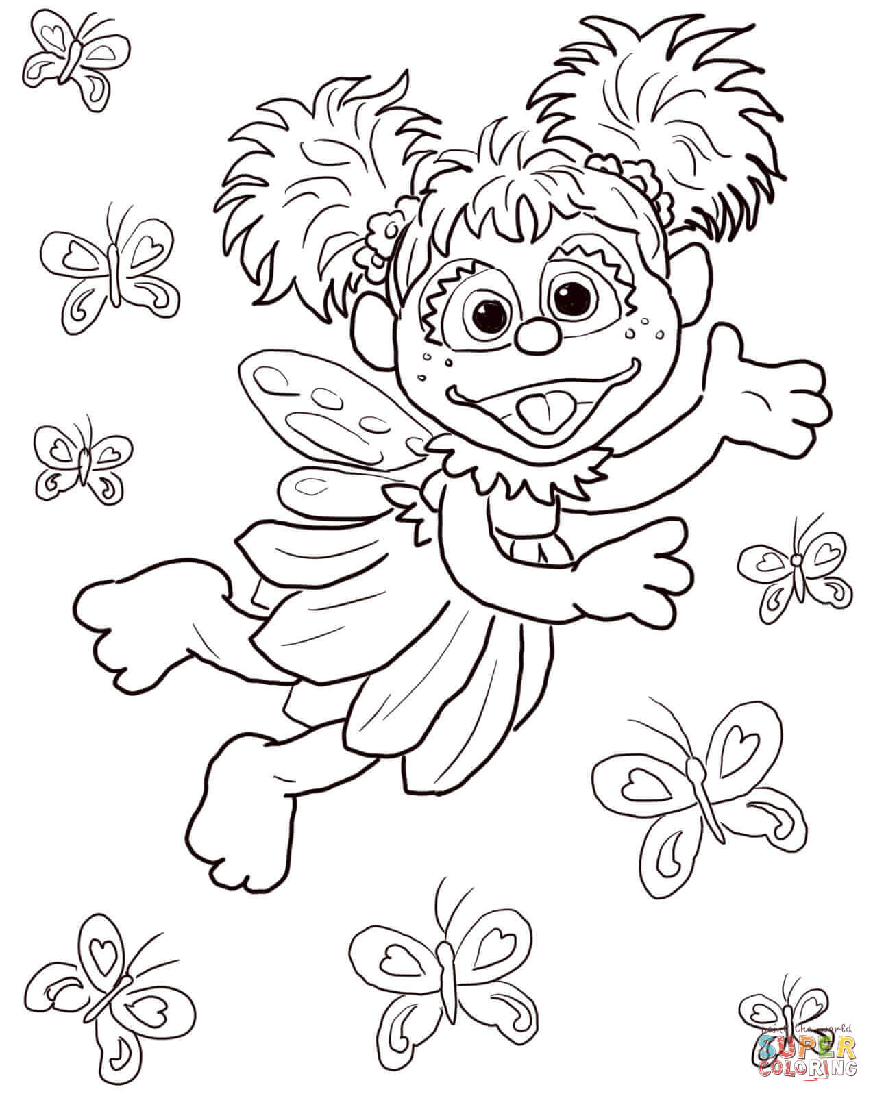 Sesame Street Coloring Pages   Free Coloring Pages - Free Printable Sesame Street Coloring Pages